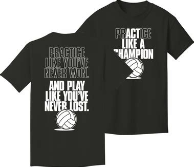 design a volleyball shirt online practice act like a chion black short sleeve