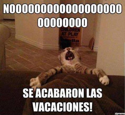 imagenes se acaban las vacaciones memes sobre fin de las vacaciones divertidas im 225 genes