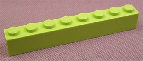 Lego Part 3008 4263776 Reddish Brown Brick 1x8 lego 3008 lime green 1x8 brick 4400 4405 4589 racers rons rescued treasures