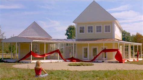 housesitter movie house plans steve martin s yellow house in quot housesitter quot hooked on houses