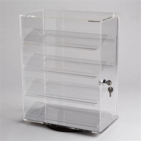 Acrylic Countertop Displays by Acrylic Revolving Display A B Store Fixtures