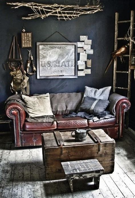 manly decor couch for a manly office house ideas pinterest