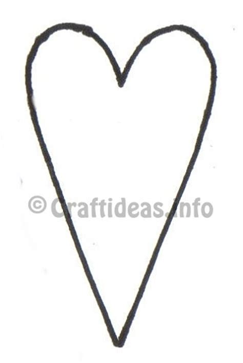 pattern for primitive heart valentine s day wood craft free country heart template