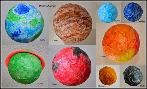 How To Make Paper Planets - papier mache planets page 2 pics about space
