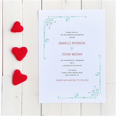 printable wedding invitations wedding chicks art deco wedding invitation 72 beautiful wedding invite