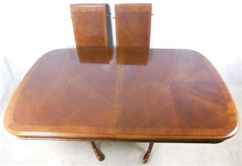 mahogany extending dining table to seat 10 sold