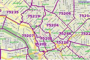 zip code map dallas zip code map dallas area pictures to pin on