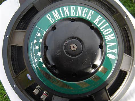 Speaker Eminence 18 eminence kilomax pro 18 image 758493 audiofanzine