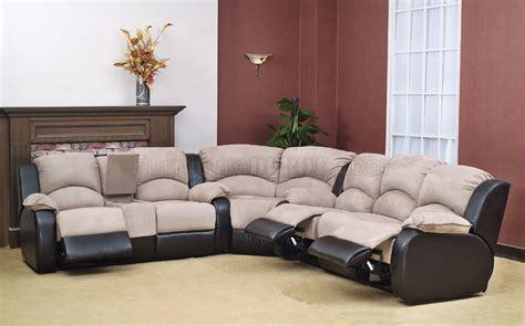 two tone sectional sofa two tone reclining sofa blog 4 jpg thesofa