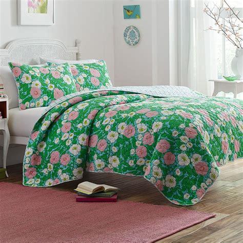 poppy fritz poppy garden quilt set from beddingstyle