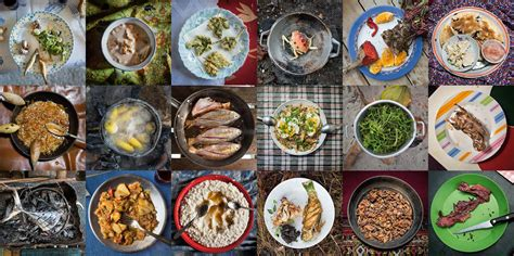 foods from around the world we are what we eat documenting dinners around the world proof