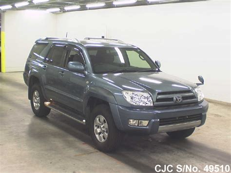 toyota surf 2003 2003 toyota hilux surf 4runner blue for sale stock no