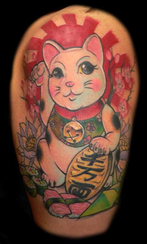 tattoo cat japanese traditional japanese cat tattoo tattooimages biz