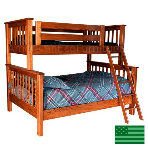 American Made Bunk Beds Amish Makenzie Bunk Bed In Solid Wood Usa Made Children S Furniture American