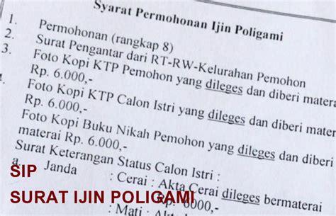 syarat membuat npwp istri salah faham terhadap hukum poligami dalam islam