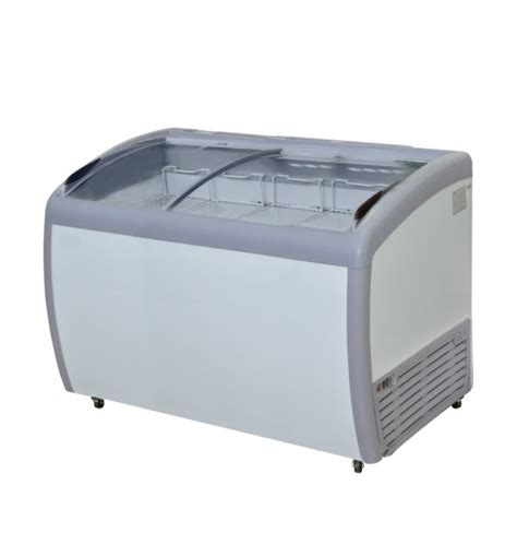 Sliding Curve Glass Freezerpremium Series Sd 360by jual beli gea sd 360by sliding curve glass freezer