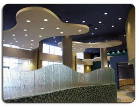 suspended ceiling clouds snap wall acoustical wall systems suspended ceilings