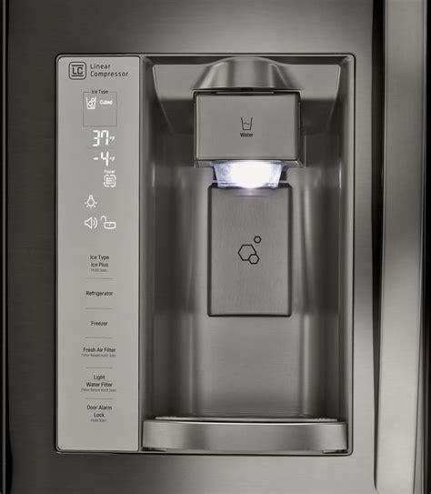 Water Dispenser Lg lg lfxs24623 33 inch door refrigerator with slim