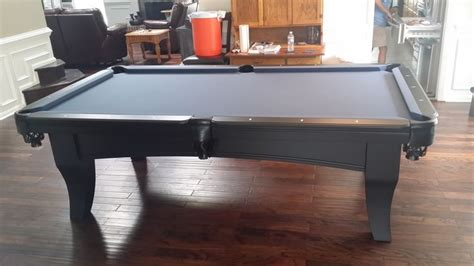 olhausen chicago pool table sold and installed by