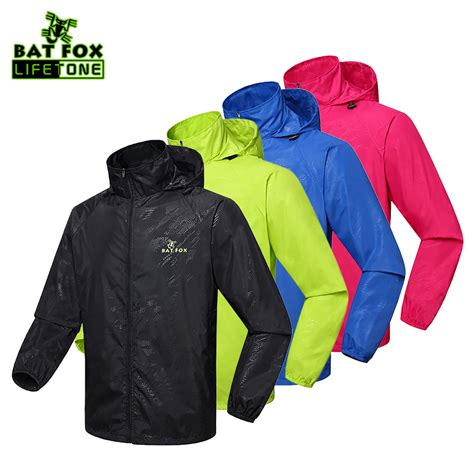 cycling raincoat batfox men women bike raincoat windproof waterproof