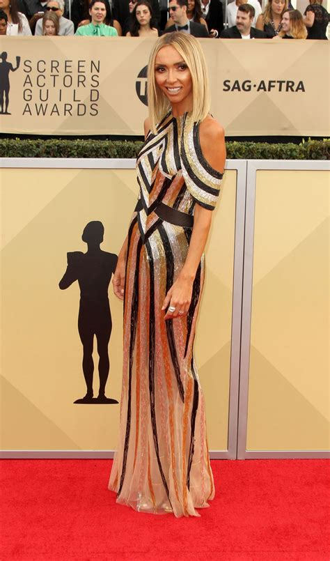 Cq At The Screen Actors Guild Awards by Giuliana Rancic At Screen Actors Guild Awards 2018 In Los