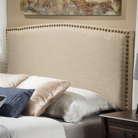 headboard canvas christopher knight home del mar adjustable canvas fabric