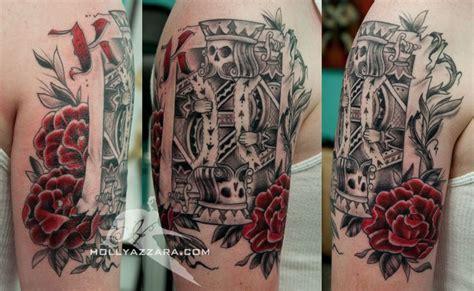 card sleeve tattoo designs 27 king card tattoos