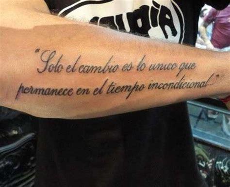 imagenes tatuajes frases en español tatuajes con frases en espa 241 ol fotos foto ella hoy