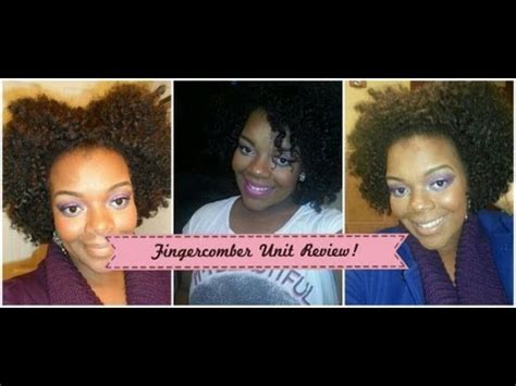 fingercomber review 4 big hair don t care fingercomber review youtube