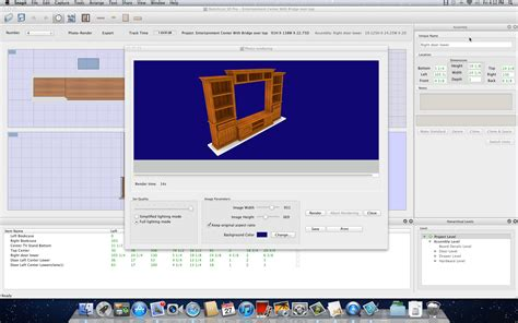 autofurniture furniture designing software sketchlist 3d mac sketchlist 3d