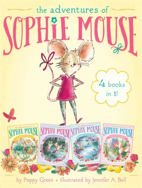the and the mouse picture book the adventures of mouse 4 books in 1 book by