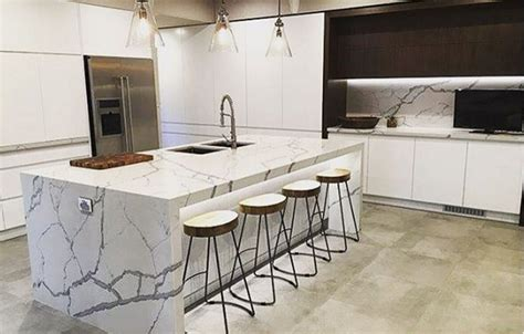 White And Grey Quartz Countertops by Quartz Countertops Quality Granite Imports