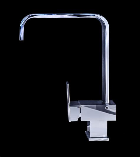 piave chrome finish modern bathroom faucet