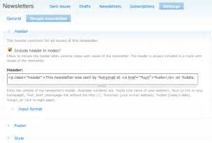 simplenews template drupal org