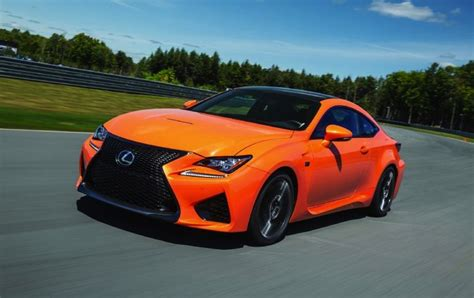 rcf lexus orange lexus rc f v8 engine produces 351kw and 550nm