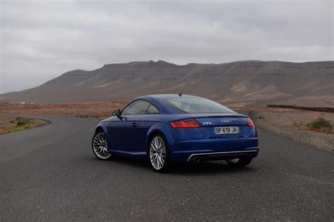 Test Audi Tts Coupe by Test Audi Tts Coup 233 2015 Efficace Diisign