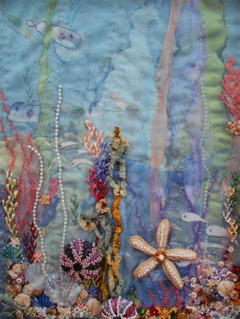 Seascape Quilts by 16 Best Seascape Quilts Images On