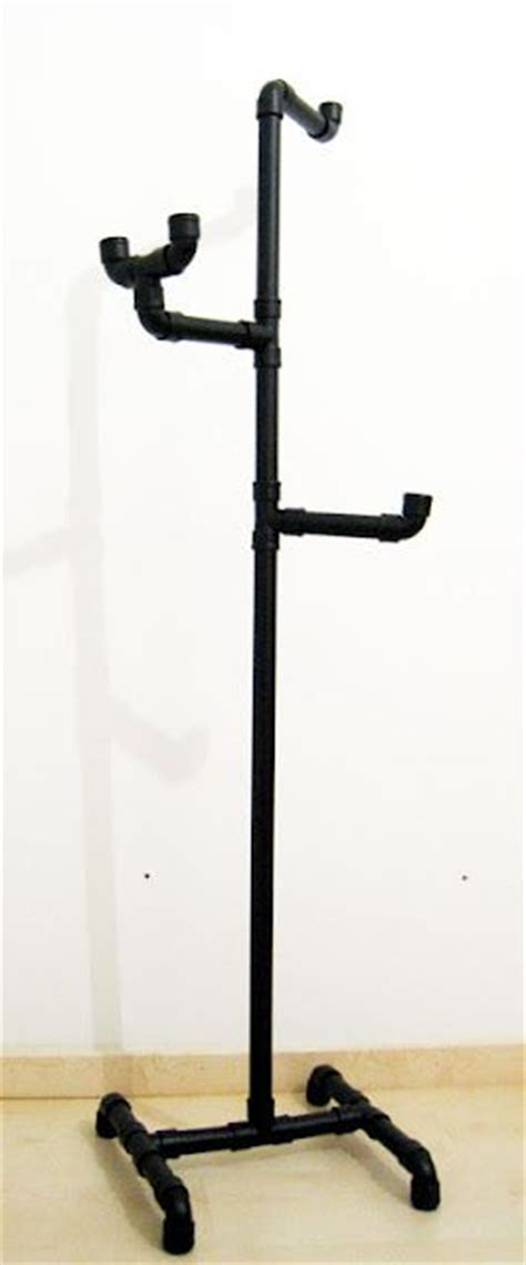 Pvc Pipe Rack by Coat Rack Made From Pipe Pvc Pipe