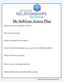 self care action plan for busy parents