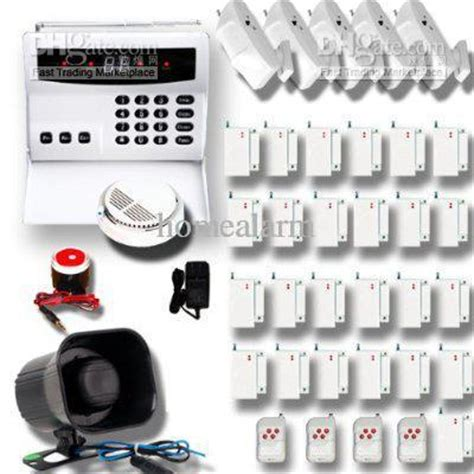 wireless home security alarm systems kit auto burglar