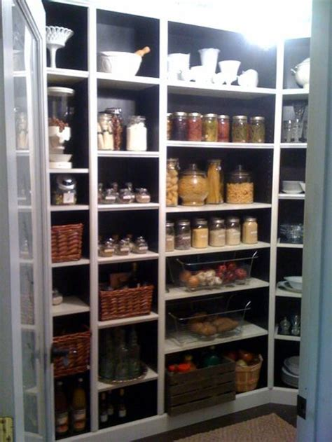 1000 ideas about bookshelf pantry on small