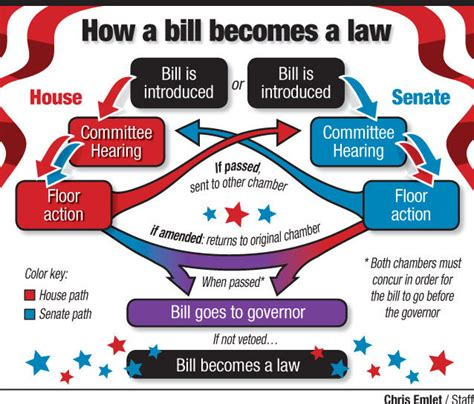 how a bill becomes a flowchart for by the numbers a look at the legislative session
