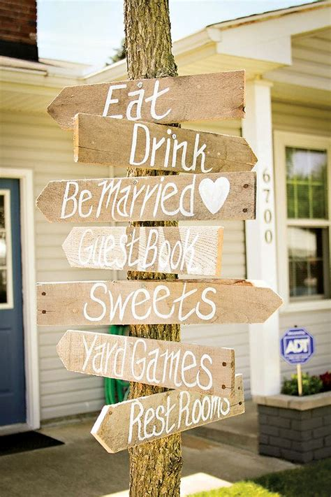Pallet Wedding Decor Wooden Pallet Wedding Signs Pallet Wood Projects