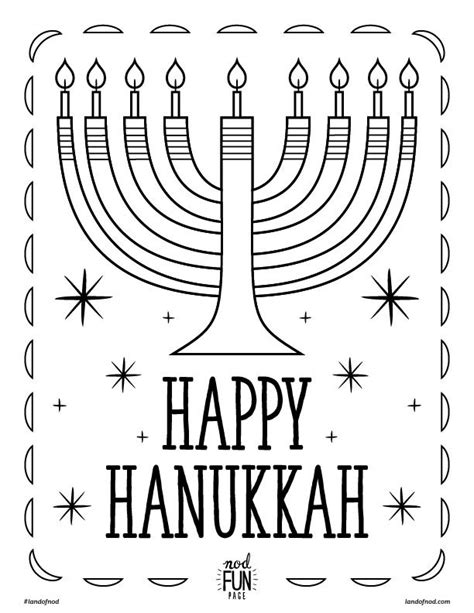 hanukkah symbols coloring pages hannukah printable coloring page honest to nod