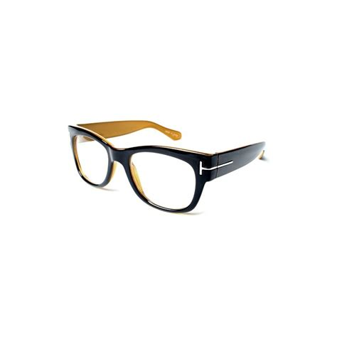 vintage fashionable thick black eyeglasses frames t wear