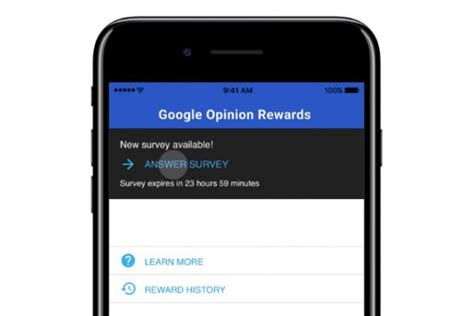 Money For Opinions - google will now pay ios users for their opinions