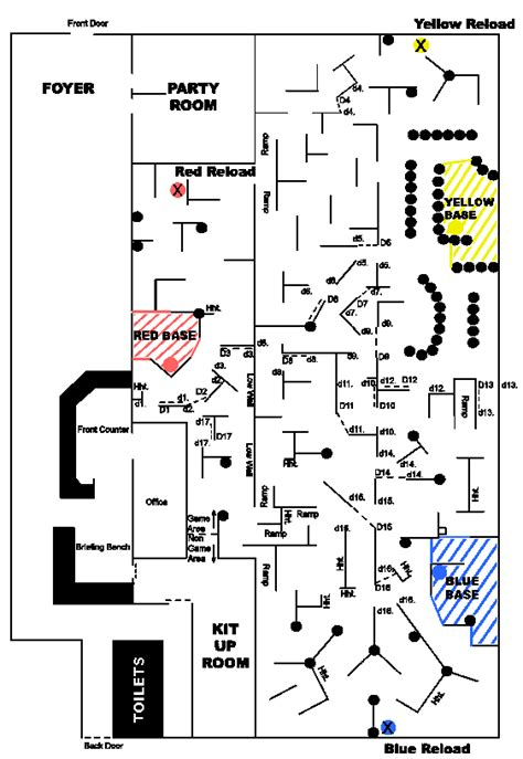 laser tag floor plan laser tag floor plan 187 behavior compartment behavior
