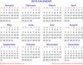 Calendar For 2018 Showing Holidays 2018 Calendar Quality Calendars