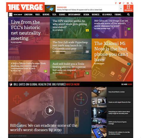 design magazine site magazine website design inspiration