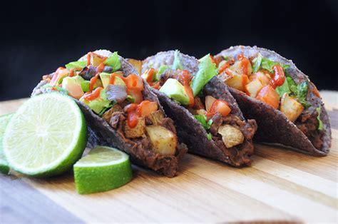 blue corn tacos  fried potatoes corn taco fried potatoes recipes
